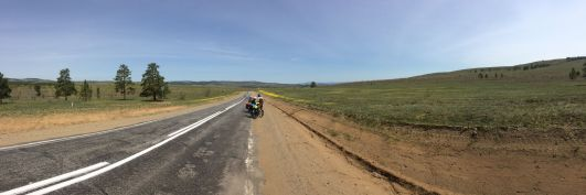 Les paysages sont splendides et la route plutôt en bon état