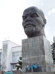 La plus grosse tête de Lénine du monde est à Ulan Ude