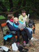 Une journée avec Julja et ses enfants